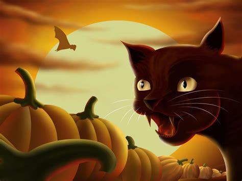 imagenes halloween gato gato halloween 4i fondos de pantalla gratis