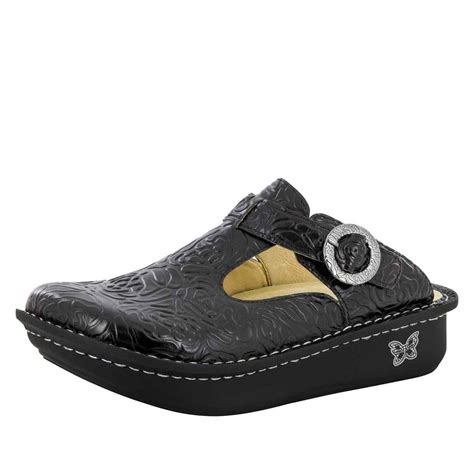 alegria shoes alegria classic black emboss alegria shoe shop