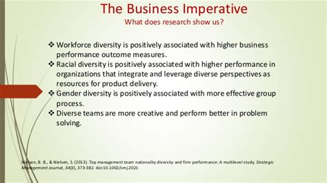 diversity in the workplace research paper diversity in the workplace research papers