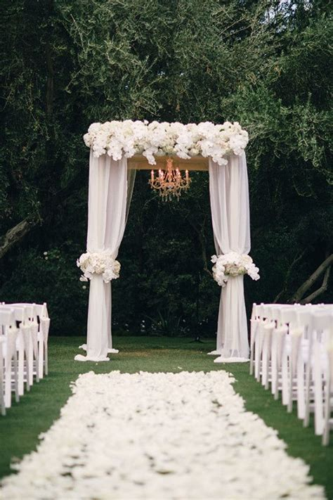 Chandelier Wedding Arch 25 Best Ideas About White Wedding Arch On Pinterest White Weddings White Wedding Decorations