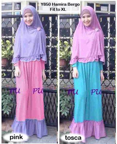 Busana Muslim Wanita Baju Gamis Wanita Muslimah Bergo 1 baju gamis bergo hamira busui y850 xl model baju