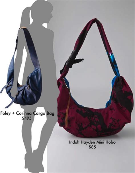 Cargos New Gloss Is Purse Friendly by Your Hobo Foley Corinna Cargo Bag Vs Indah Hayden