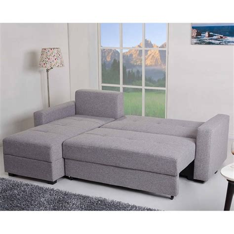 sectional sofa storage gold sparrow aspen convertible sectional storage sofa bed
