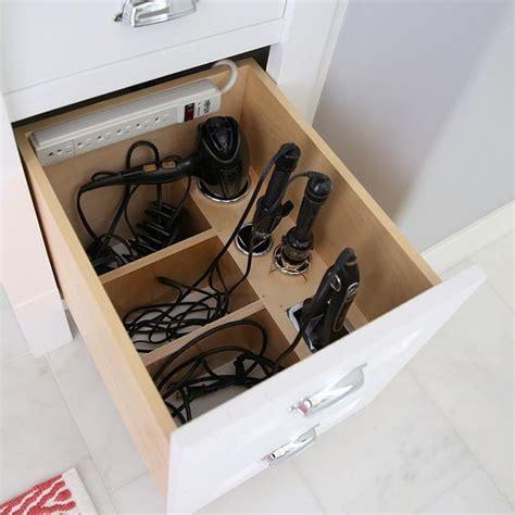 Hair Dryer Organizer Diy amazing custom bathroom organizer for hair dryer and curling irons bathrooms
