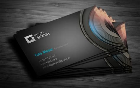 photographer id card template business card photo studio by jodlar on deviantart