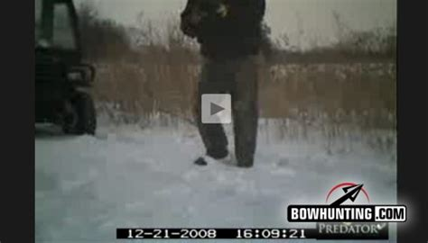 trail camera cold weather test part 1