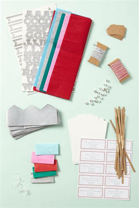 christmas cracker kit 24 00 holiday it up pinterest