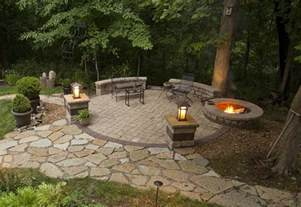 backyard patio ideas with pit pit design ideas
