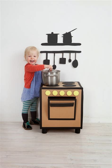 Cardboard Kitchen by Hello Wonderful 12 Awesome Diy Play Kitchens