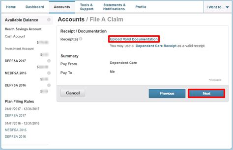 Dependent Care Fsa Receipt Template by How To File A Dependent Care Fsa Claim 24hourflex