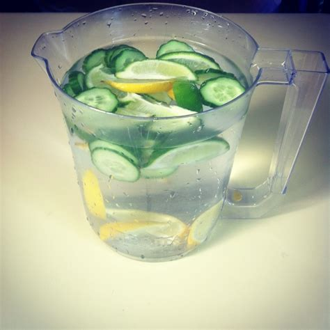 Cucumber Lemon Lime Mint Detox by Pin By Joyce Staehle On Yummage