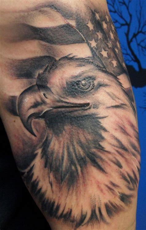Bald Eagle American Flag Tattoo Tattoo Fantastic American Bald Eagle Tattoos