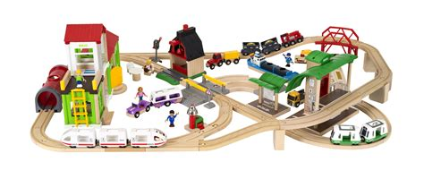 brio country railway set deluxe world set brio