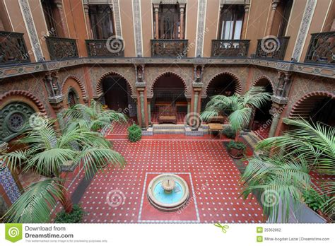 Interior Courtyard House Plans moorish patio lisbon portugal stock photo image of