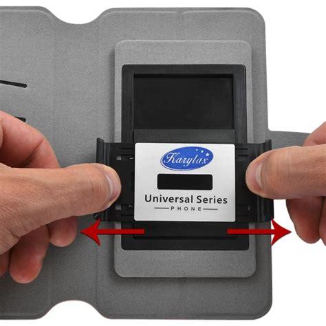 Protection Asus Zenfone 4s etui universel m porte carte 224 rabat lat 233 ral couleur