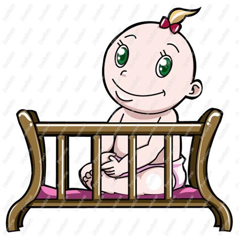 Baby Crib Clipart Baby Cradle Clipart Clipart Suggest