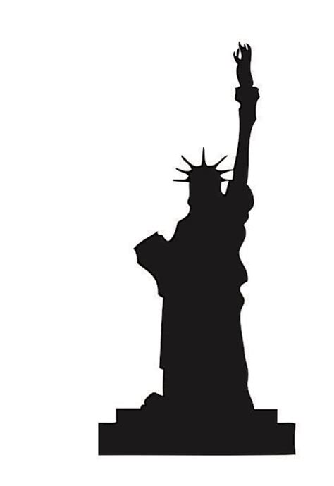statue of liberty l the gallery for gt statue of liberty outline