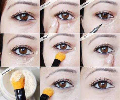 eyeliner tutorial under how to conceal undereye dark circles and bags makeup