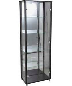 Display Cabinets Black Glass Buy Cheap Black Glass Display Cabinet Compare Furniture