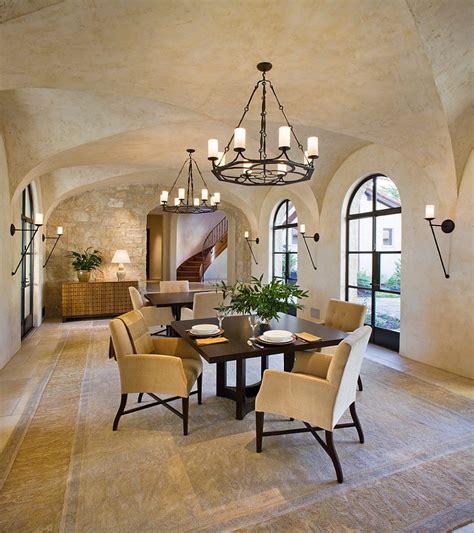 san francisco faux ceiling  mediterranean dining room