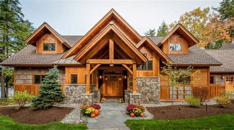 decorative rock exterior exterior rustic with western red cedar siding picnic style outdoor