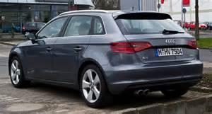 Audi A3 2 0 Tdi 2014 File Audi A3 Sportback 2 0 Tdi Ambiente 8v Heckansicht