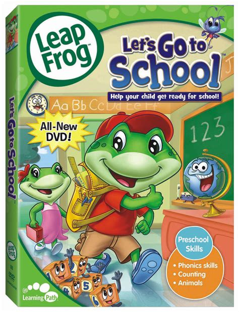 leap frog leapfrog let s go to school dvd review simply being