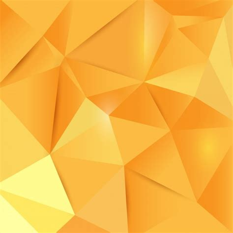 yellow geometric background design vector from free vector polygonal yellow background vector free download