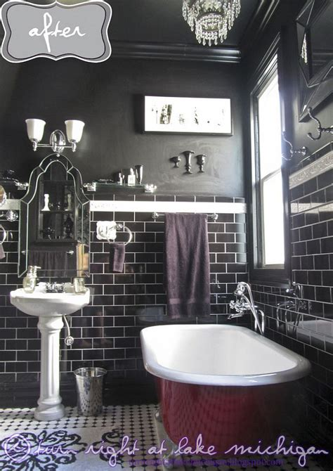 black master bathroom our black white classic master bathroom
