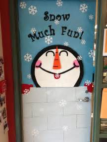 Winter Classroom Door Decorating Ideas - winter classroom door decorations classroom and teaching pinterest