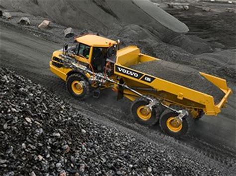 volvo komatsu rate  satisfaction  mining equipment customer survey