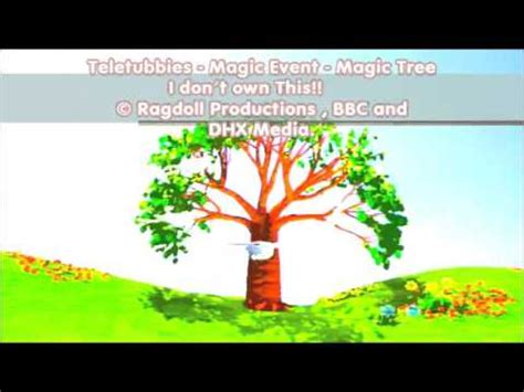 teletubbies a tree appears in teletubbies magic event the magic tree videolike