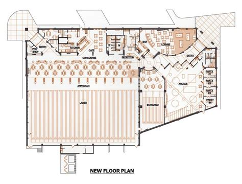 bowling alley floor plans invest in mini bowling