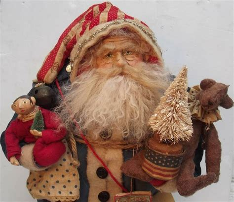 Handmade Santa Dolls - pin by sweet on everything santa