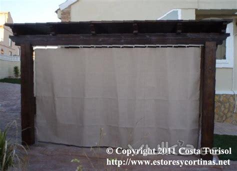 cortinas de plastico para terrazas foto cortinas de lona acrilica para tapar balcones