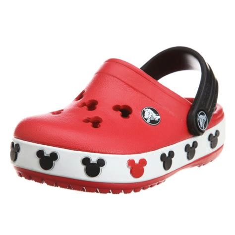 crocs crocband mickey ii clog toddler kid