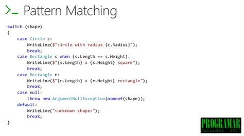 pattern matching empty string what s new in c 7