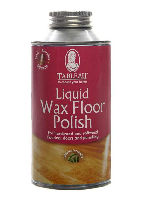tableau liquid wax wood floor polish 500ml suitable for unsealed wood floors ebay
