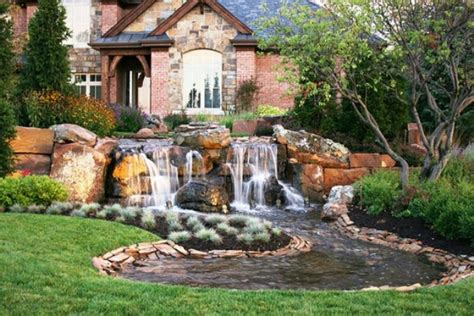 waterfall house design the simple home waterfall design ideas beautiful homes design