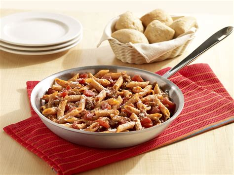 kid s menu italian penne pasta picture of cliffside one skillet penne with italian sausage golden grain