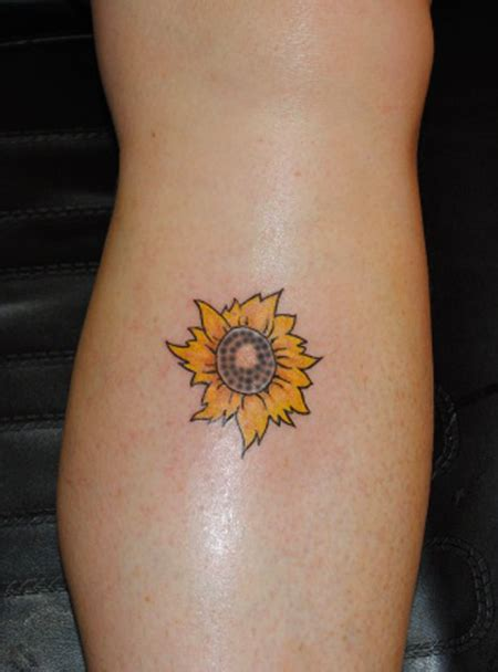 small sunflower tattoos sunflower images designs