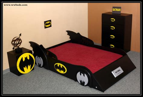 batman bed batmobile kids room pinterest
