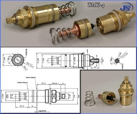 Mischbatterie Badewanne Reparieren by Thermostat Mischbatterie Dusche Gb39 Hitoiro