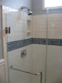 17 best ideas about glass tile shower on glass