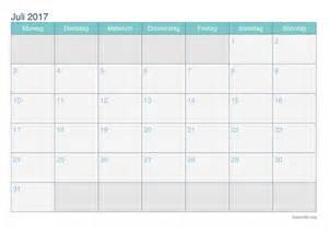 Juli Kalender 2017 Kalender Juli 2017 Zum Ausdrucken Ikalender Org