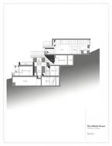 steep hillside house plans gallery of hillside house sb architects 20