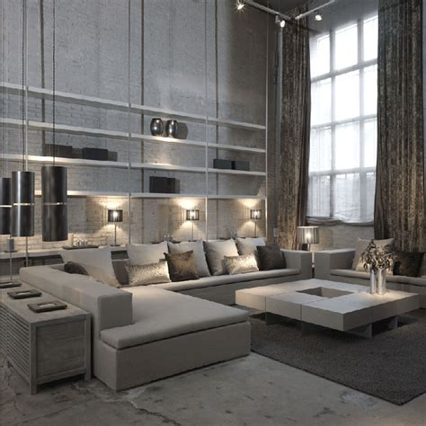 modern loft living room joan lao balance between quality design and environment respect ruartecontract