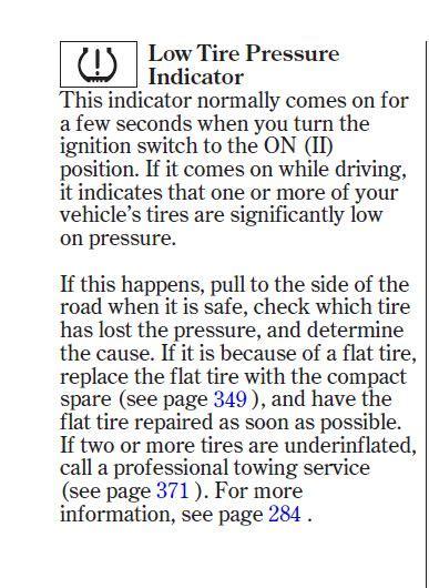 honda accord tire pressure light stays on 2014 honda accord sport tire indicator light autos post