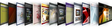 themes gallery web gallery wizard graphics library
