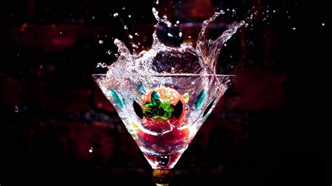 martini cocktail splash cocktail splash 1920 215 1080 wallpaper hd desktop widescreen